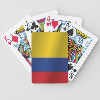 Colombia flagga spelkort
