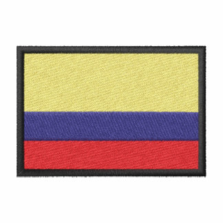 Colombia flagga track jacket