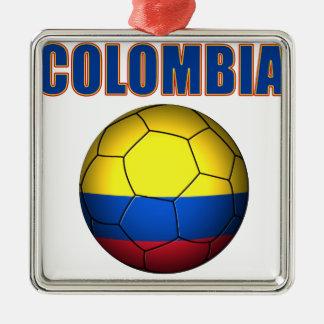 Colombia fotboll 2710 julgransprydnad metall