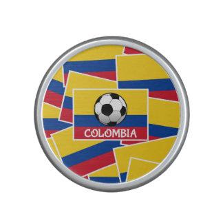Colombia fotboll speaker