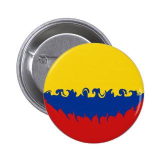 Colombia Gnarly flagga Nål