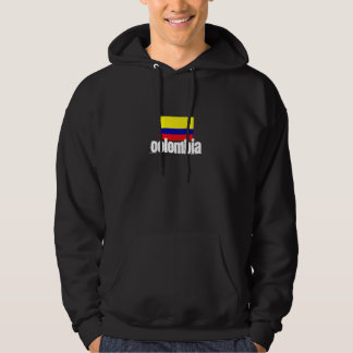Colombia hooded svettskjorta tröja med luva