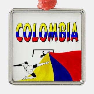 Colombia Julgransprydnad Metall