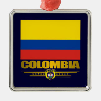 """Colombia pride"" prydnad Julgransprydnad Metall"