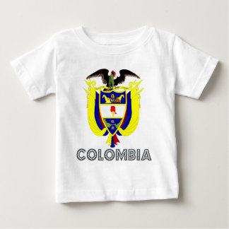 Colombia vapensköld t shirts