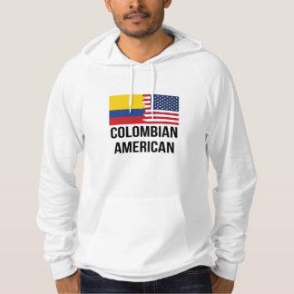 Colombiansk amerikanska flaggan munkjacka