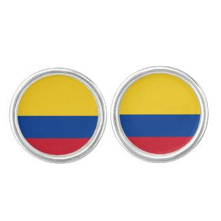 Colombianska flaggaCufflinks Cufflinks