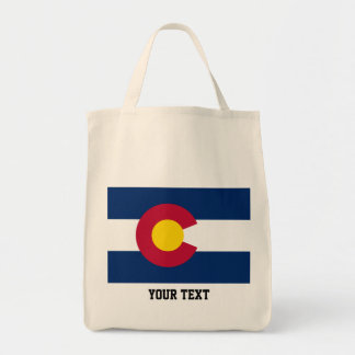 Colorado flagga, amerikanstatlig flagga mat tygkasse