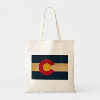 Colorado flagga budget tygkasse