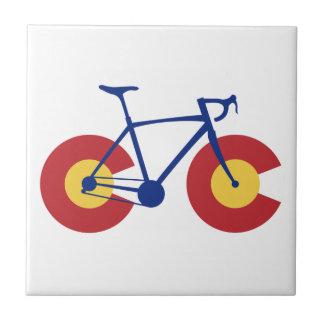 Colorado flaggacykel kakelplatta