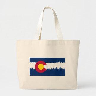 Colorado flaggaTreeline Silhouette Jumbo Tygkasse