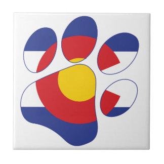 Colorado husdjurtass kakelplatta