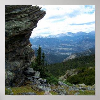 Colorado landskap print
