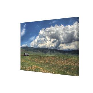 Colorado lantgård canvastryck