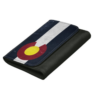Colorado mörk Grungeflagga