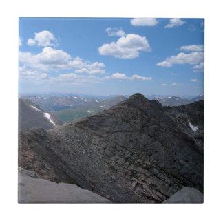 Colorado rocky mountains Moonscape Kakelplatta