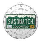 Colorado Sasquatch registreringsskylt Piltavla
