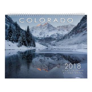 Colorado scenisk kalender 2018