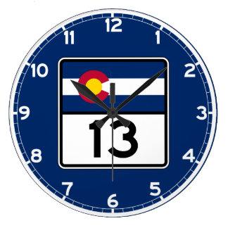 Colorado statlig rutt 13 stor klocka