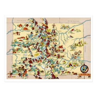 Colorado vintagekarta vykort