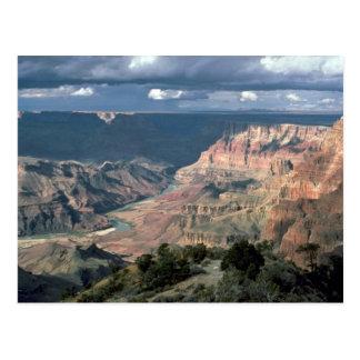 Coloradofloden grand Canyonnationalpark, Arizon Vykort