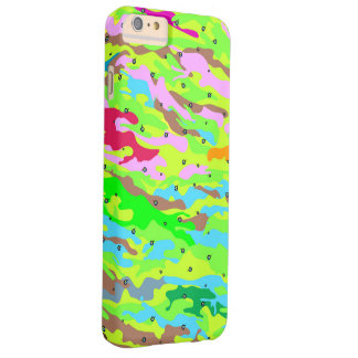 Colorfullcamo Barely There iPhone 6 Plus Skal