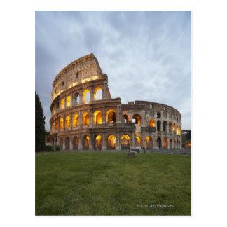Colosseum i Rome, italien Vykort
