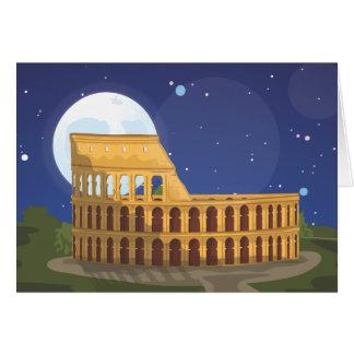 Colosseumen av Rome Hälsningskort