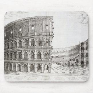 Colosseumen som byggas i ANNONS 80 (gravyr) Musmatta