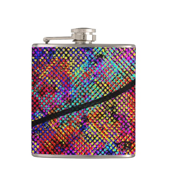 Colourful flask fickplunta