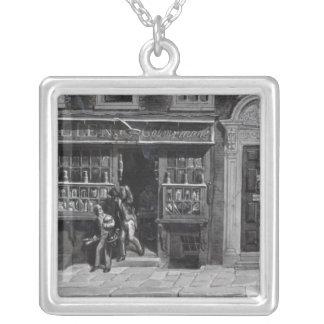 Colourman'sen shoppar, Sts Martin Lane, London, 18 Silverpläterat Halsband