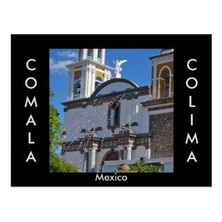 Comala Colima, Mexico vykort