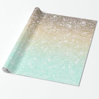 Combo guld ID435 för glitterlutningOpal Presentpapper