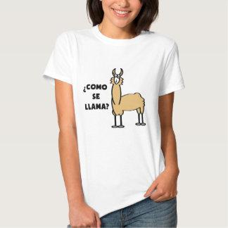 Como Se-Llama? #2 T Shirt