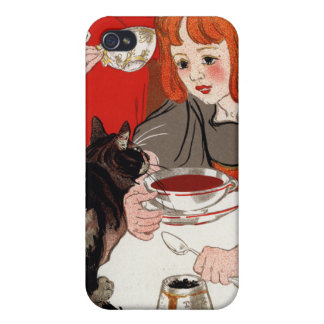 Compagnie Francaise des Chocolats, Steinlen iPhone 4 Cover