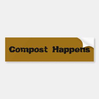 Compost händer bildekal