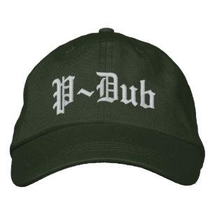Compton för stil för P-Dub Olde engelska hatt Broderad Keps c52ae256b4caf