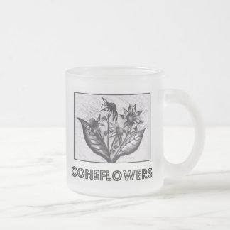 Coneflowers Frostad Glas Mugg