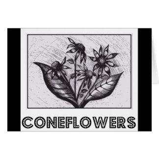 Coneflowers Hälsningskort