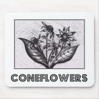 Coneflowers Musmattor