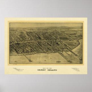 Coneyö NY 1906, gammalt tryck