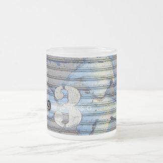 ConeySpirit blått Frostad Glas Mugg