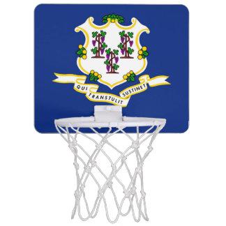 Connecticut flagga Mini-Basketkorg