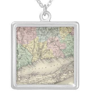 Connecticut Silverpläterat Halsband