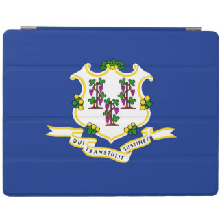 Connecticut statlig flaggadesign iPad skydd