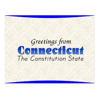 Connecticut Vykort