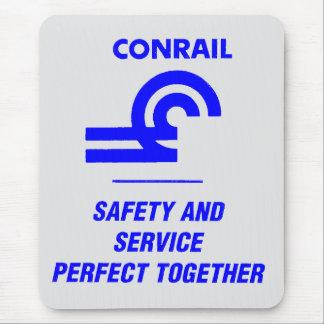 Conrail järnväglogotyp Mousepads Musmatta