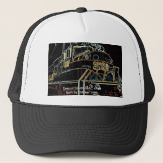 Conrail kvalitets- 1976-1999- SD-80MAC #4118 Truckerkeps