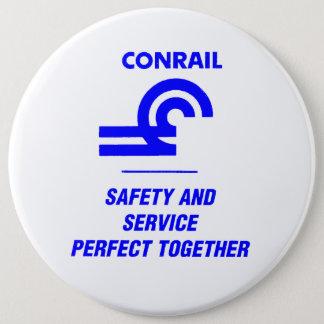 Conrail säkerhet och servar perfekt tillsammans jumbo knapp rund 15.2 cm