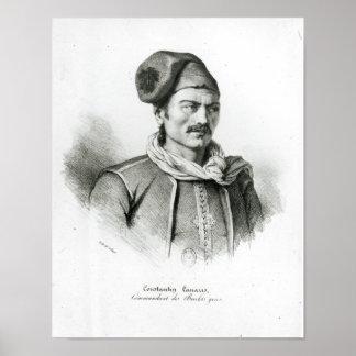 Constantine Kanaris Poster